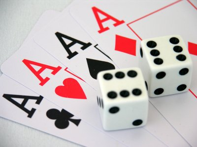Image result for dice and cards