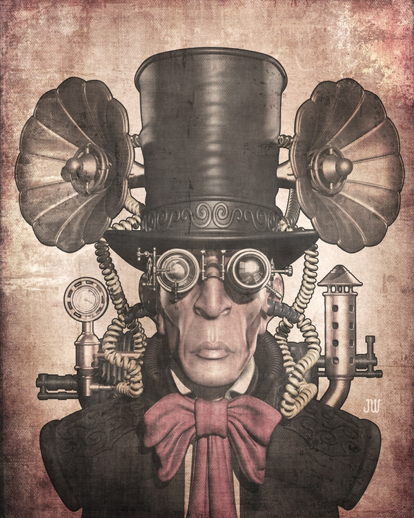 Steampunk Character Types