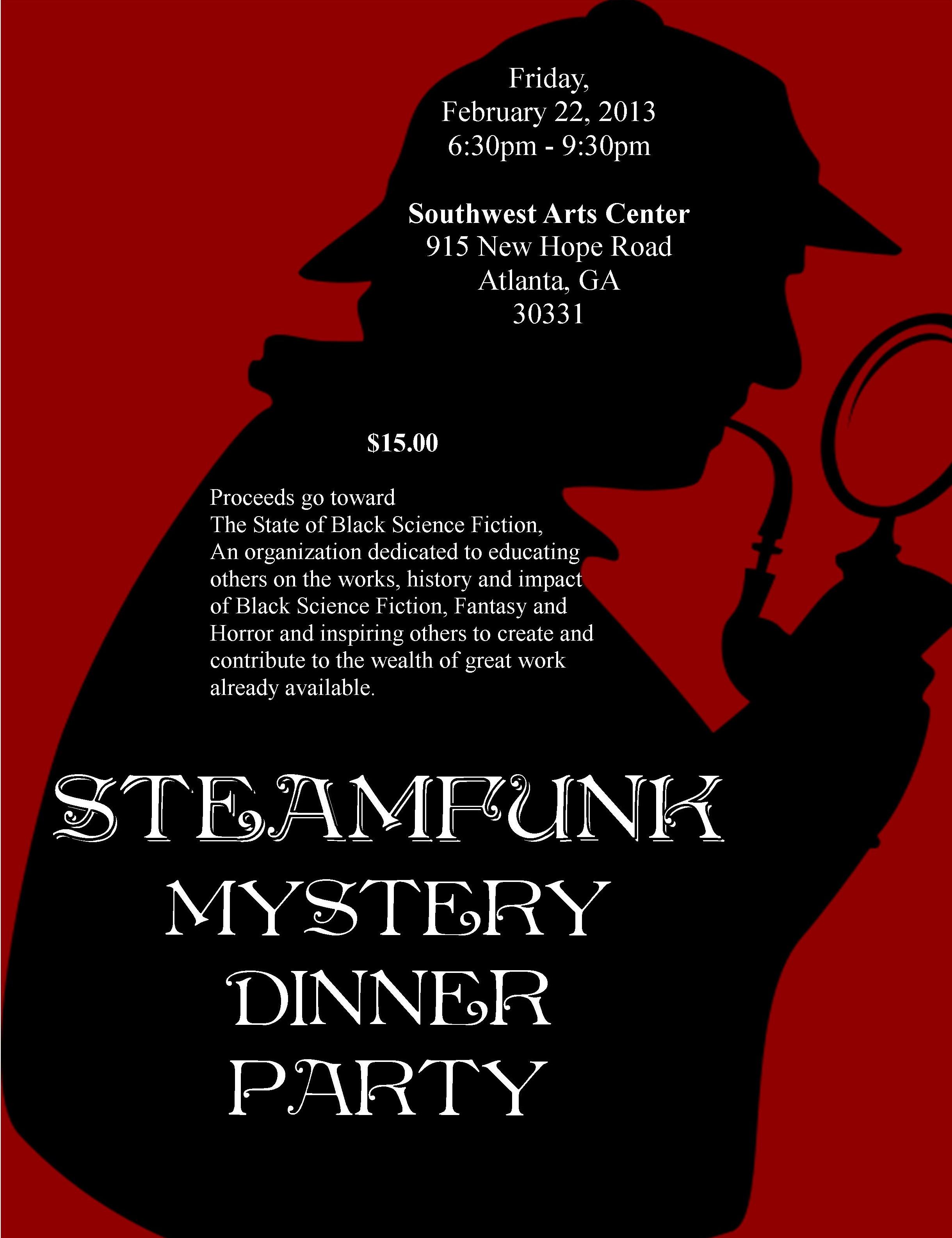 Steamfunk Detectives Origin Of The Murder Mystery Game