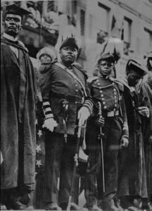 Marcus Garvey Dieselpunk