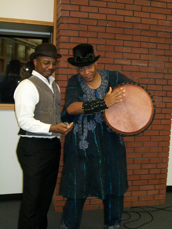 DO BLACK PEOPLE REALLY DO THIS STUFF? Black Steampunks and Steamfunkateers (3/6)
