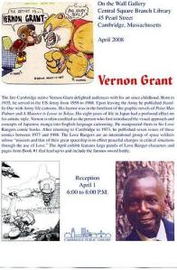 Vernon E. Grant, father of  Western manga / anime.