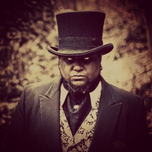 Mark Curtis - Steampunk and Cosplayer - portrays vampire leader, Greasy Grant in the feature film, Rite of Passage.