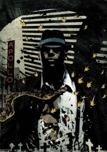 Luke Cage Noir from Marvel Comics.