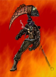 """DAY 3 OF THE BUTLER / BANKS BOOK TOUR! Balogun Ojetade Transports Readers to the Roaring 20s in the Two-Fisted Dieselfunk novel, """"TheScythe"""""""