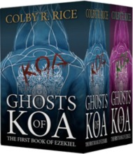THE BUTLER / BANKS BOOK TOUR BEGINS: Author Colby R. Rice brings us the Ghosts ofKoa!