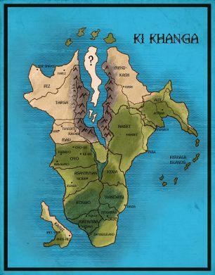 Ki Khanga Map