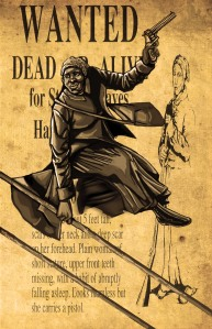 harriet tubman wanted poster