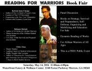The Reading for Warriors Book Fair comes to Atlanta!
