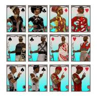 A Sneak Peek at the Ki Khanga Custom Playing Card Deck!