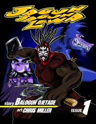 Afrofuturistic Comic Book, Jagunjagun Lewa, available NOW!